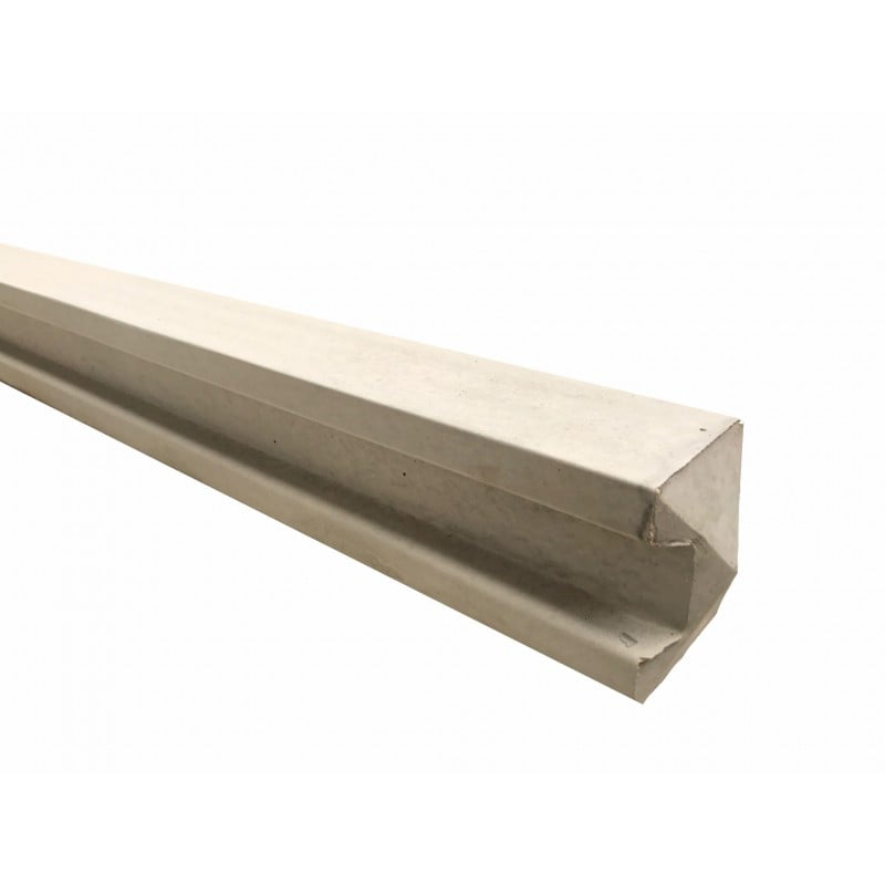 125mm x 100mm, 5x4, Intermediate Slotted Post